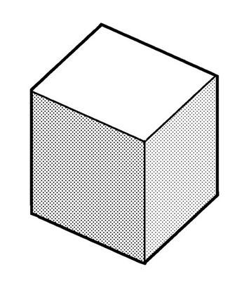 立方体(外側から見る場合)