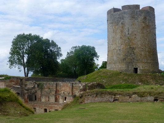 Donjon du château de Guise