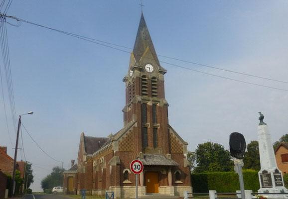 Eglise de Pozières