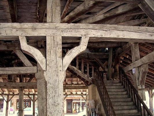 Villereal-La halle - détails