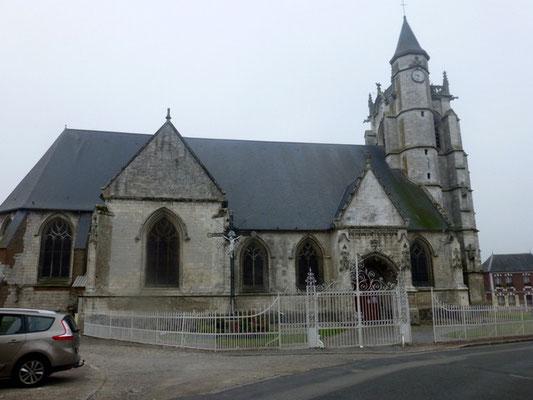 Eglise de Crécy en Ponthieux- Gothique flamboyant