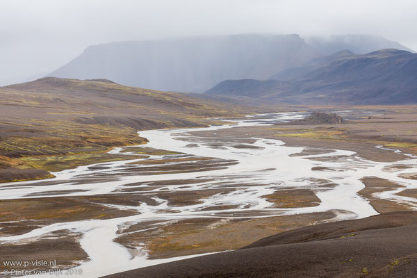 Ölfusá rivier bij Kerlingarfjöll