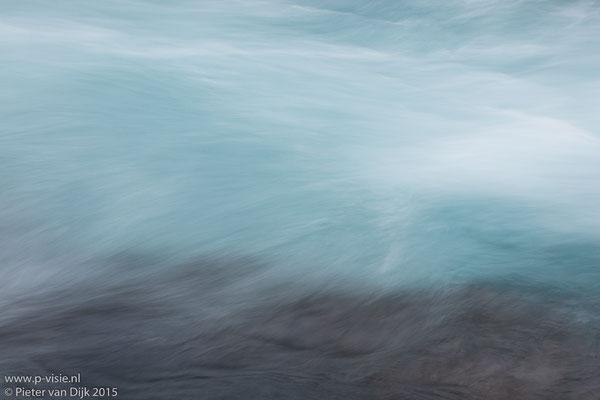 Water bij Hraunfossar