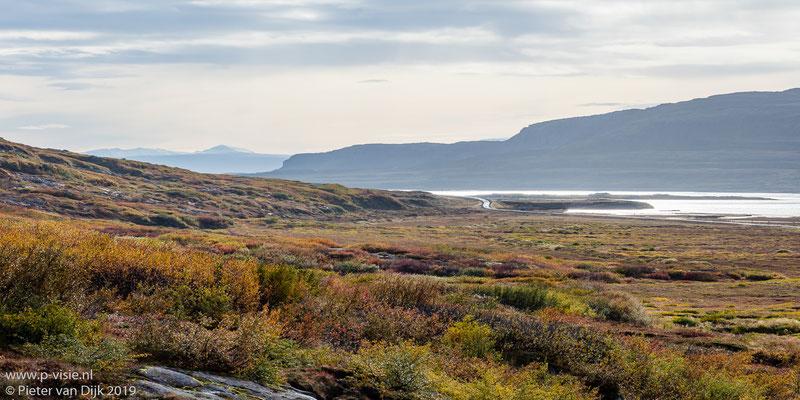 Zicht op Bjarnarfjörður