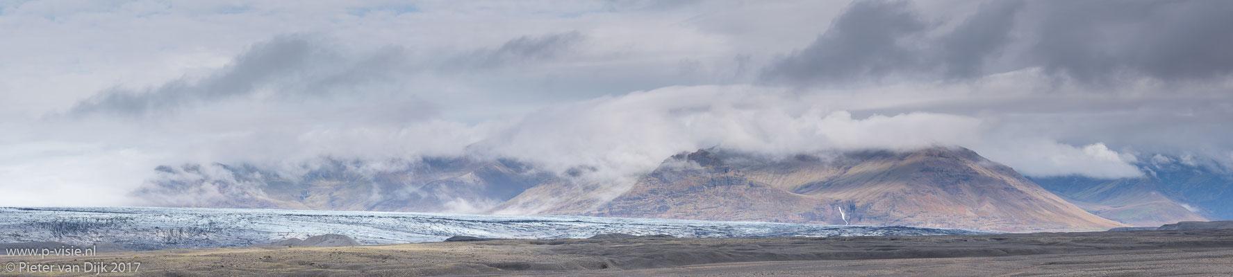 Panorama van Skaftafell