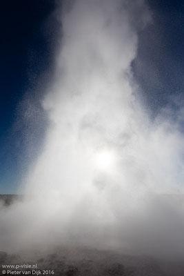 Strokkur bij Geysir