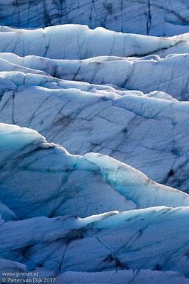 Ijs van de Svinafellsjökull