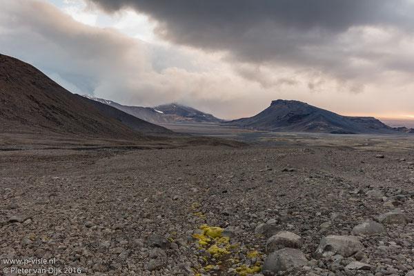 Landschap in de omgeving van Langjökull