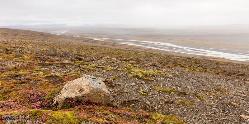 Landschap langs de Kjölur