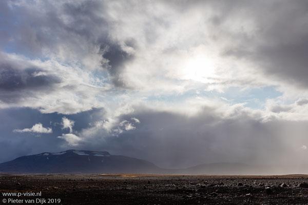 Wolken boven Kjölur