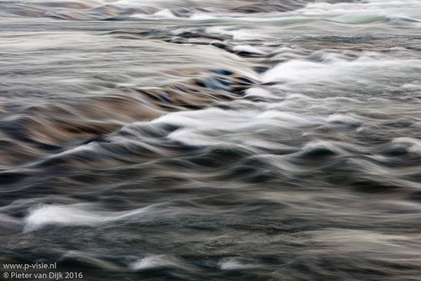 Water in de Faxafoss waterval