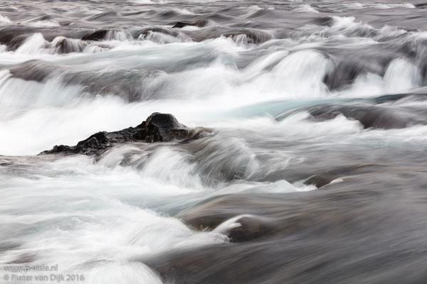 Water in de Bruarfoss waterval