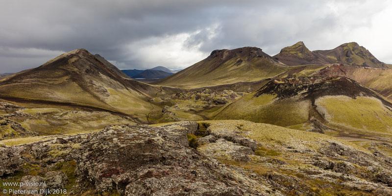 Landschap bij Frostastaðavatn