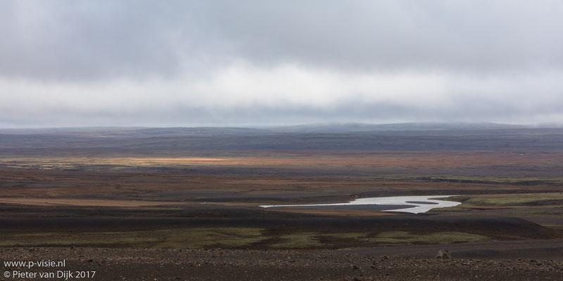 Landschap langs de Kjölur hooglandroute