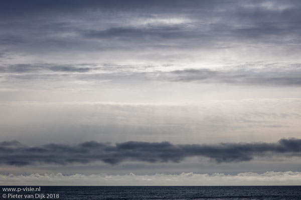 Lucht boven de zee