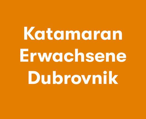 Katamaransegeln Dubrovnik
