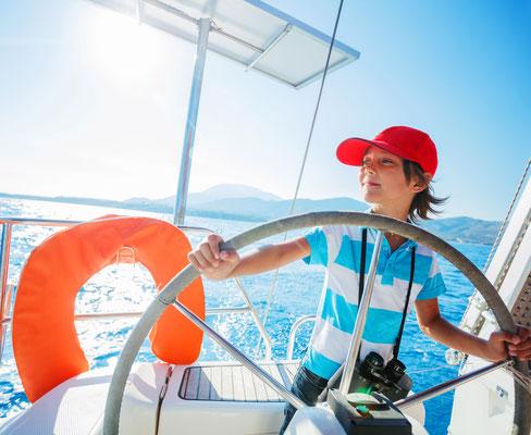 Badeurlaub Yacht mit Kindern
