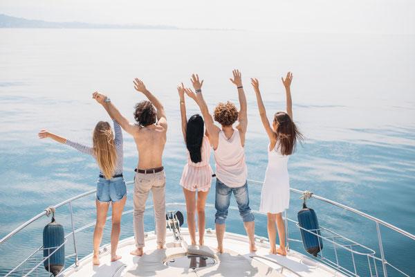 Segelyacht junge Erwachsene Mallorca