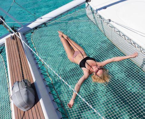 Badeurlaub auf Premium-Katamaran
