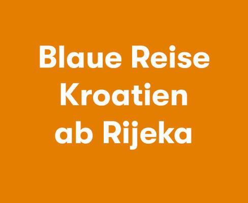 Halb- oder Vollpension Blaue Reise Kroatien