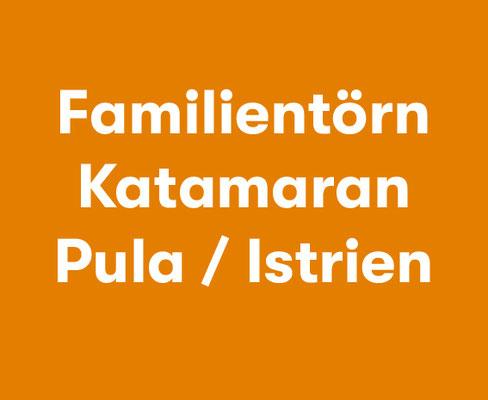 Athen Katamaran Familie