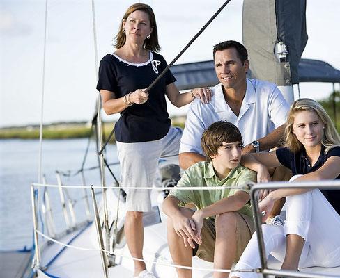 Mitsegeln Familien mit Skipper Pula