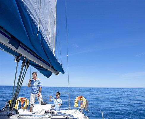 Familientörn Split Trogir mit Skipper