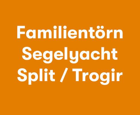Aktiv Mitsegeln für Familien Segelyacht Split