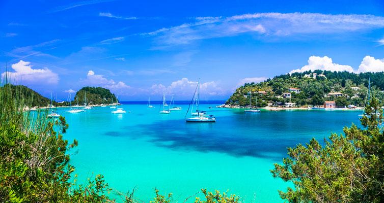 Singleflottille Korfu