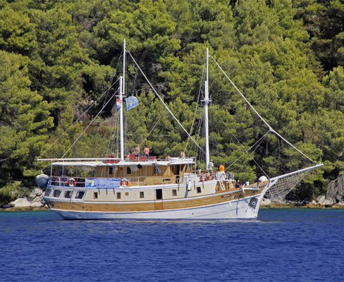 Einschiffungshafen Trogir