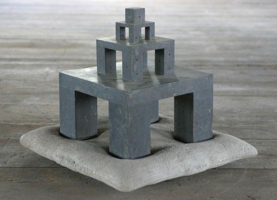 Denkmodel Nr.7 - Bronze - Beton - 1995