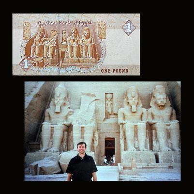 1 pound Egipto desde el Templo de Ramses II