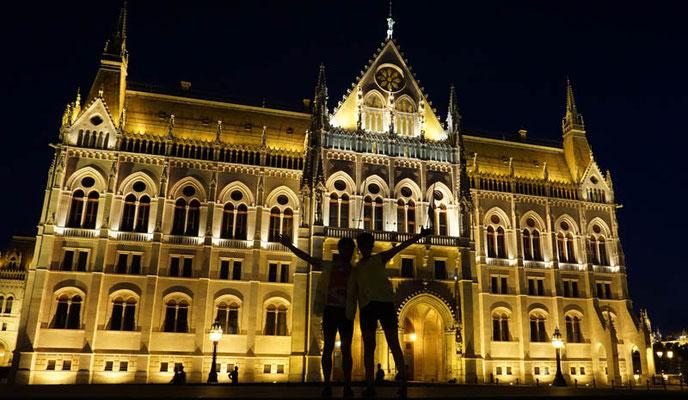 Wir haben es nach Budapest geschafft!