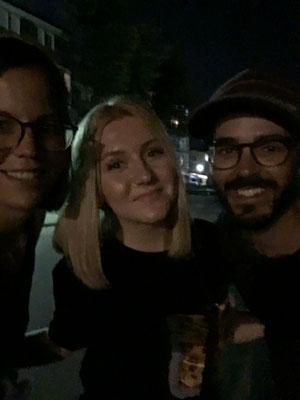Ein toller Abend mit Sara, die uns das Nachtleben von Bugojno zeigt!