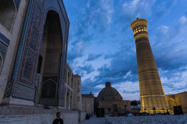 Bukhara bei Nacht!