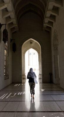 Außengänge der Sultansmoschee