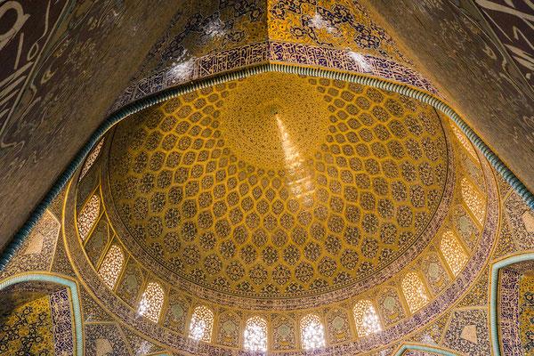 Isfahan bietet eine Vielzahl an prunkvollen Moscheen. Sehr beeindruckend!