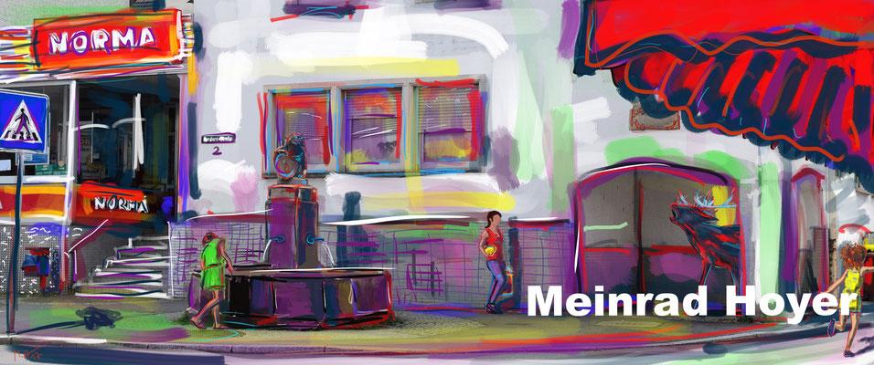 Vordere Straße Ecke Weimerstraße