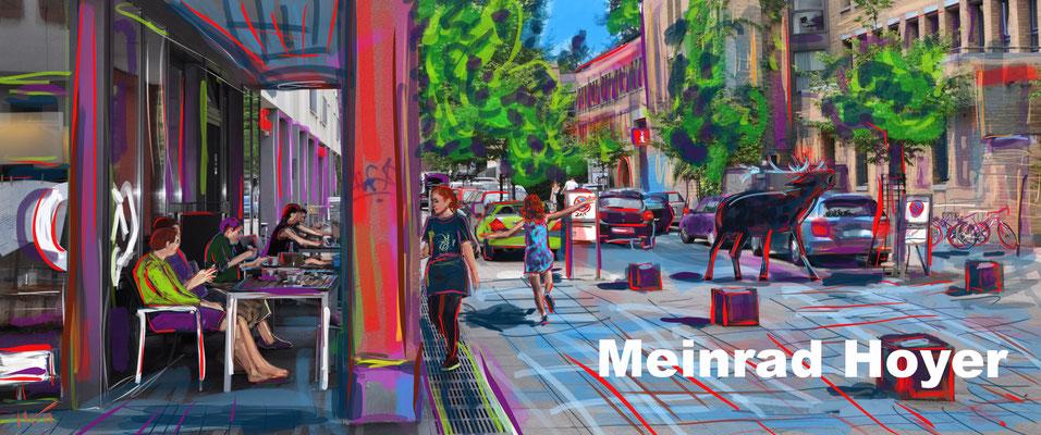 Cannstatter Straße Ecke Kirchhofstraße