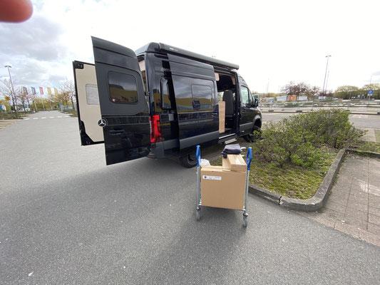 Seit Ende April bin ich dabei meine Wohnung einzurichten ... viele Fahrten zum IKEA (Click & Collect funktionierte ja auch in diesen Zeiten super!)
