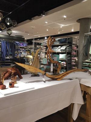 Impressionen - The Voyage von Globus Warenhaus im Einkauszentrum Glatt, Kunstausstellung von Markus Bhend