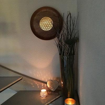 Blume des Lebens Holz