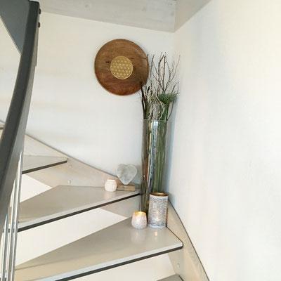 Blume des Lebens Holz Janine Fahrni