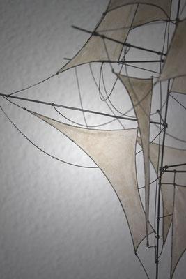 Vents contraires - Série D'Air et de Vent - 2016 - 35x24 - détail