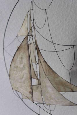 Au vent - Série D'Air et de Vent - 2015 - 30x30 - détail