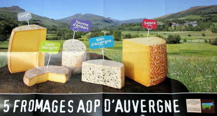 5 fromages AOP