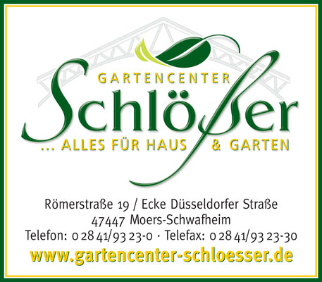 Gartencenter Schlößer