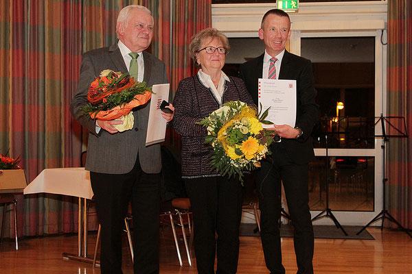 Verleihung Ehrenbrief des Landes Hessens
