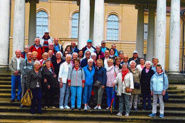 Die Reisegruppe 2019 um Frau Hanikel-Richter
