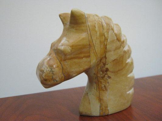 tête de cheval terminée coté gauche